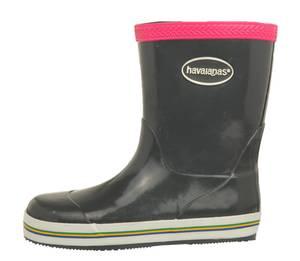 Havaianas Kids Gummistiefel Grey/Super Pink 1001515-4028