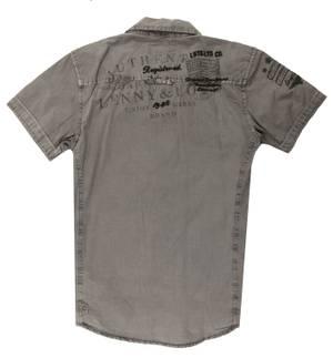Lenny and Loyd Men Shirt grey 14275b-master-steel