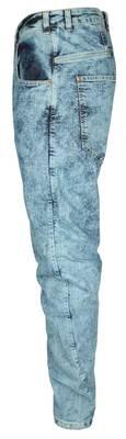 Bankruptcy Men's Jeans Blue Batik Bananero 111060101500