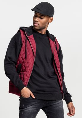 Urban Classics Diamond Quilted Hooded Vest TB1261