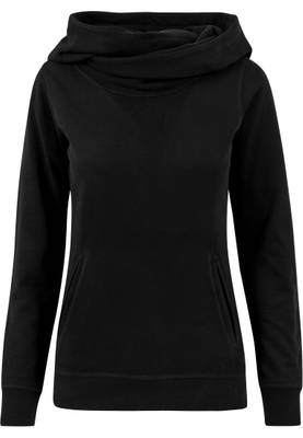 Urban Classics Damen Ladies High Neck Hoody TB1327