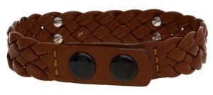 Guess Men Bracelet stainless steel brown/black UMB81101