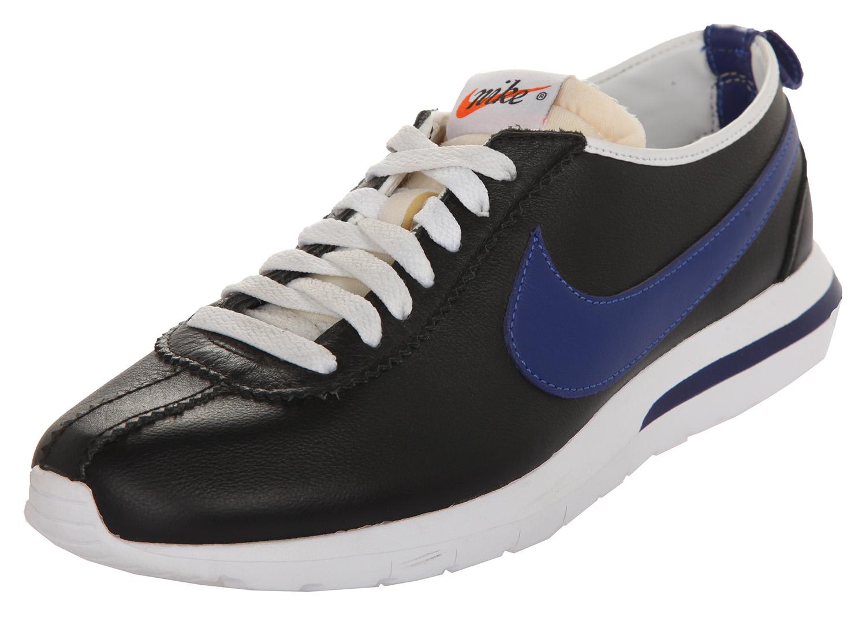 82f38b3ccaf3e Nike Herren Sneakers Roshe Cortez NM LTR Schwarz-Royalblau-Weiß 826332-004