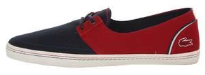 Lacoste Men Sneakers Bardos 5 AP SRM dark blue-red 7-29SRM21331P4