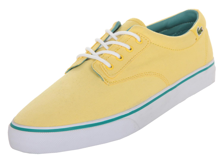 the best attitude ecf14 30dec Lacoste Herren Sneakers Barbados GP LEM Light Yellow 7-25LEM4006YT2