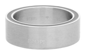 Joop Men Ring stainless steel silver/blue Blue JPRG10658A