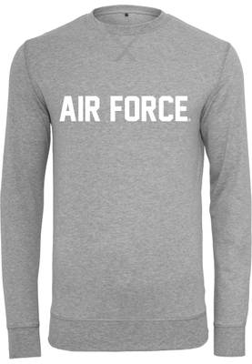 MERCHCODE Air Force Lettering Crewneck MC280