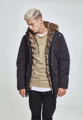Urban Classics Hooded Faux Fur Parka TB2431