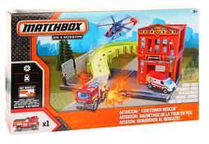 Mattel Kids Matchbox on a Mission Kunststoff Mehrfarbig Feuerwachturm Rettungseinsatz BLM15-BFN51