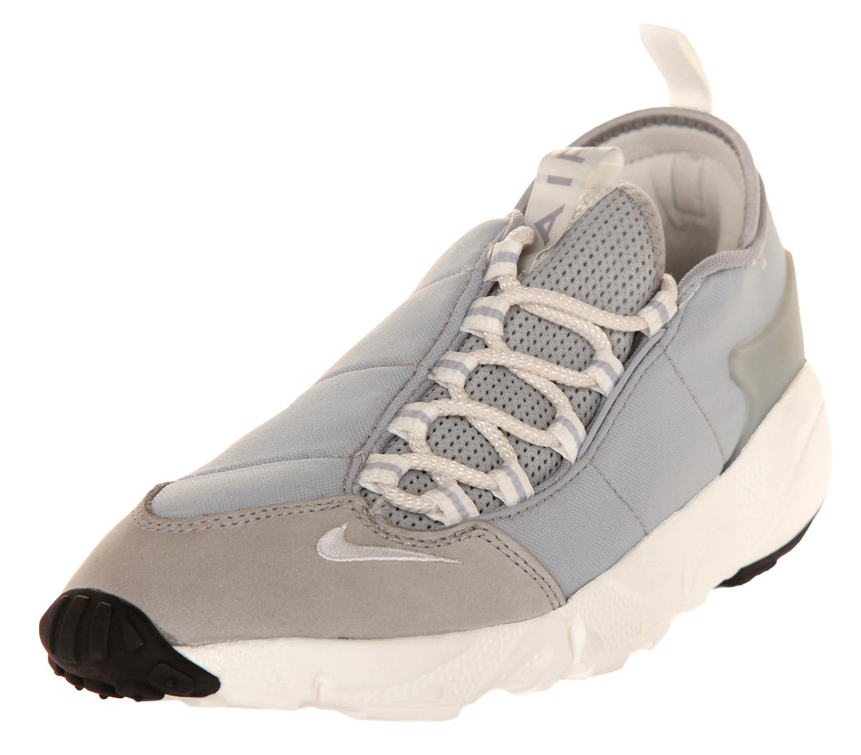 Nike Herren Turnschuhe Air Footscape NM Wolf grau Summit Weiß schwarz ... Rückmeldung zur Bestätigung