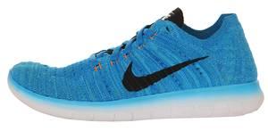Nike Sneakers Free RN Flyknit PHT Blue/Black-GMM BLTTL ORNG 834362-400