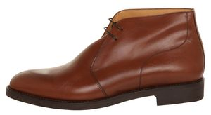 John Spencer Men Boots Chukka Brown 6878