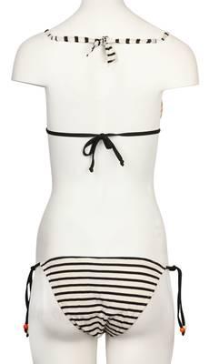 Verdissima Damen Swimsuits Panna/Nero Triangle 2EJ-RC00
