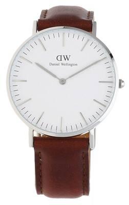 Daniel Wellington Damen Armbanduhr Classic St Mawes dunkelbraun DW00100052