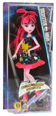 Mattel Girl Monster High Kunststoff multicolored Electrifies Draculaura DVH67