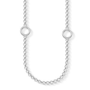 Thomas Sabo Women charm necklace 925 silber silver X0201-001-12-L80