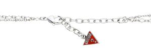 Guess Women necklace Metall silver / black / cream UBN80118