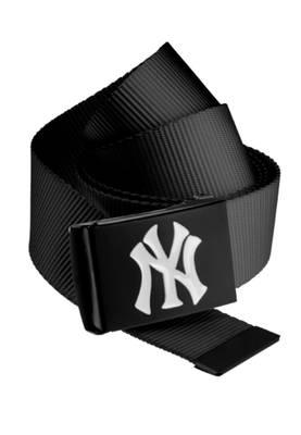 Damen MLB Premium Black Woven Belt Single 10280