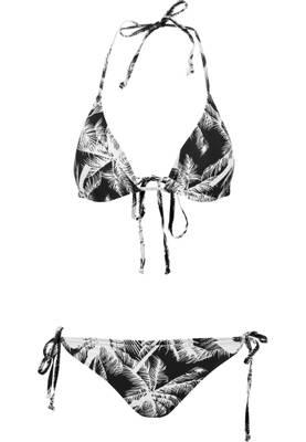 Urban Classics Damen Ladies Palm Bikini TB1485