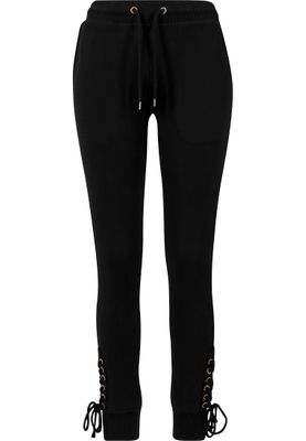 Urban Classics Damen Ladies Fitted Lace Up Pants TB1518