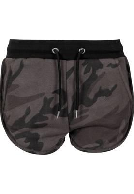 Urban Classics Damen Ladies Camo Hotpants TB1637