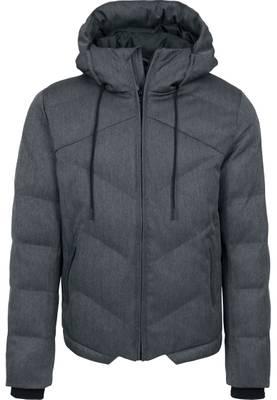 Urban Classics Herren Heringbone Hooded Winter Jacket TB1804