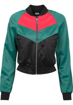 Urban Classics Damen Ladies Short Raglan Track Jacket TB1856