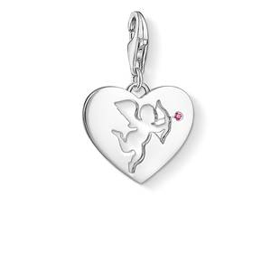 Thomas Sabo Women charm 925 silber silver Heart with Amour 1382-011-10