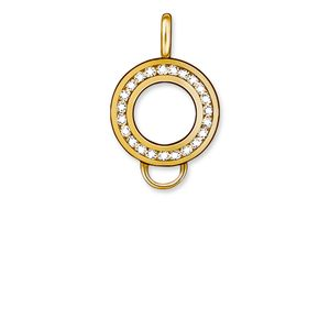 Thomas Sabo Damen Charm Carrier 925 Silber Gold X0185-414-14