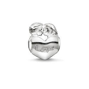 Thomas Sabo Damen Bead 925 Silber Silber Lovers K0162-001-12