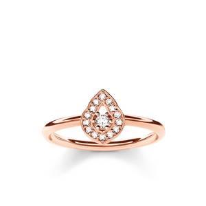 Thomas Sabo Damen Fingerring 925 Silber Rosegold TR2069-416-14