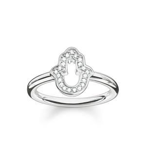 Thomas Sabo Damen Fingerring 925 Silber Silber TR2076-051-14