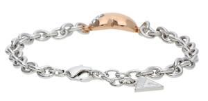 Guess Damen Armband Metall silber/rosegold UBB11214