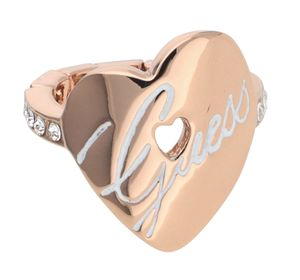 Guess Damen Fingerring rosegold UBR11103