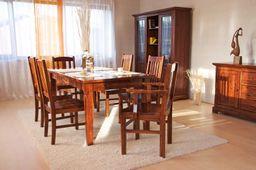 Esstisch 180 Siena Akazie massiv Holz Moebel Esszimmer Küchentisch Speisetisch – Bild 3