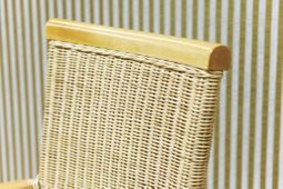 Essgruppe Hacienda massiv Holz 10Rattan Stühle 250cm Esstisch Speisetisch – Bild 6