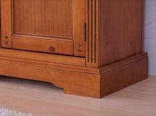 Holztruhe Gotland braun Pinie teilmassiv Holz Moebel Sitztruhe Couchtisch Box Truhe – Bild 8