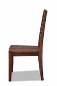 "Stuhl ""Tecky"" Akazie massiv Holz Möbel Esstischstuhl Esszimmer Stuhl Holzstuhl – Bild 4"