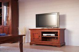 TV-Unterschrank Siena Akazie massiv Holz TV Bank Lowboard Fernsehtisch Schrank