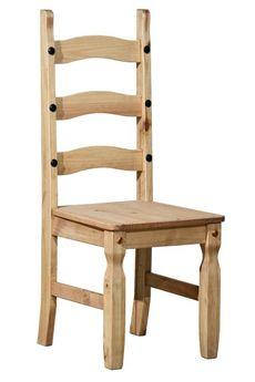 Holzstuhl Merida massivholz Pinie Landhausstil Lehnstuhl Esstisch stuhl