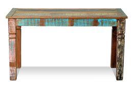 Esstisch Riverhouse - recycletes Altholz - bunt lackiert – Bild 2