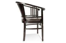 Armlehnstuhl Panama inkl. Sitzkissen - Akazie massiv - braun - antikfinish – Bild 3