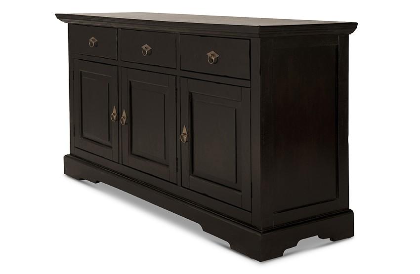 sideboard panama akazie massiv braun antikfinish. Black Bedroom Furniture Sets. Home Design Ideas