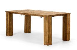Esstisch 180x90 Cordoba Flat  mit AP Teak massiv Holz Möbel Tische Wohnzimmer Esszimmer – Bild 3