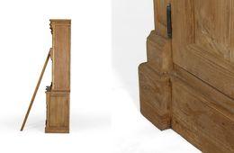 Bibliothek Cordoba 4Schub/4tür Teak massiv Holz Möbel  – Bild 3