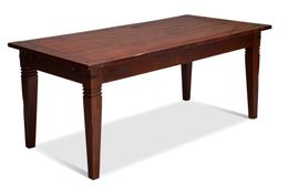 Esstisch 150x90 Capri Pinie braun massiv Holz Moebel Speise tisch Esszimmer – Bild 1