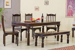 """Esstisch 180x80 """"Florenz"""" Palisander massiv Holz Möbel Tisch Holztisch Esszimmer – Bild 1"""