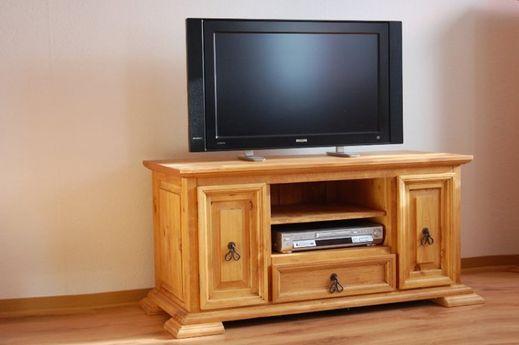 Ausstellungsartikel TV-Unterschrank El Paso Pinie massiv Holz Moebel TV-Bank Lowboard TV Moebel Ausstellungstück 2 Wahl