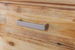 Vitrine Colorado Akazie massiv Holz Glasvitrine Schrank Highboard Anrichte Ausstellungsstück – Bild 3