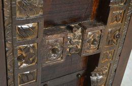 Schrank Alary - recyceltes Holz – Bild 4